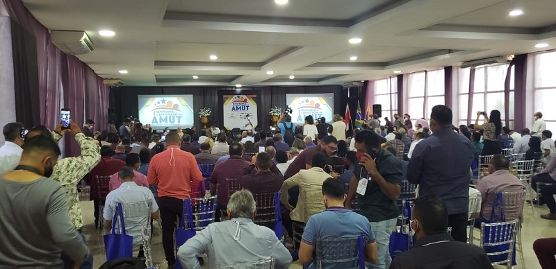 Governador Helder Barbalho discursa para os participantes (Foto>Via WhatsApp)