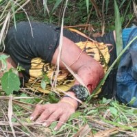Homem é preso após esfaquear outro no bairro Nego do Bento em Novo Progresso; Vitima morreu no HMNP