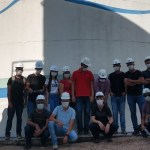 Estudantes de engenharia visitam instalações da Estação de Tratamento de água de Novo Progresso