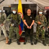 Maior traficante da Colômbia e capturado pelas Forças Armadas