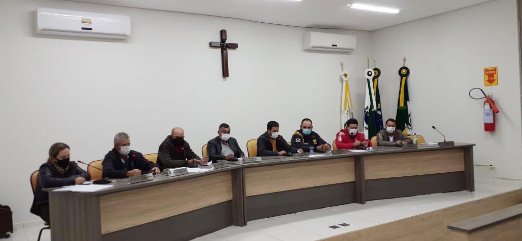 Vereadores unidos com executivo em prol de Pinhalão