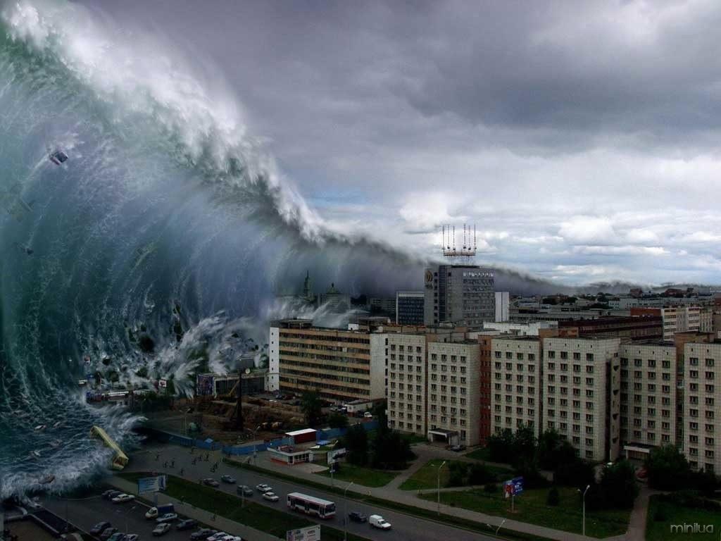 erupção de vulcão pode gerar tsunami