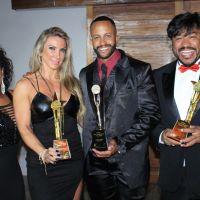 Ex-BBB Janaina do Mar, Luziane Baierle, Milene Pavorô e outros famosos em Premiação em SP