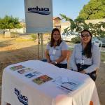 Ação social da Embasa na Vila Rica, em Barreiras. Foto: Divulgação/Embasa
