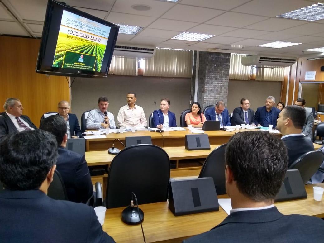 Comissão de Agricultura da Alba discute cultura da soja na Bahia