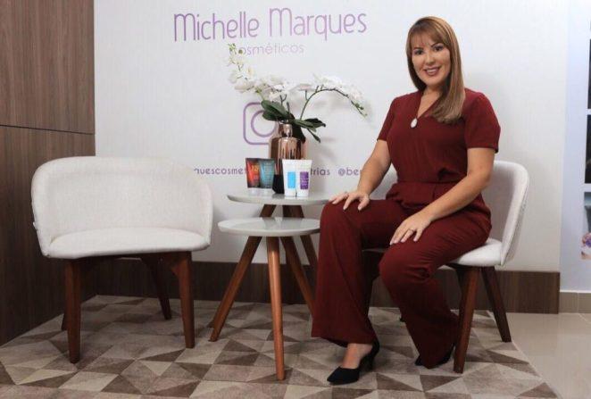 Michele Marques a grande referência no produto de eficácia para tratamento de estrias. Foto: Gilson de Souza / IDT
