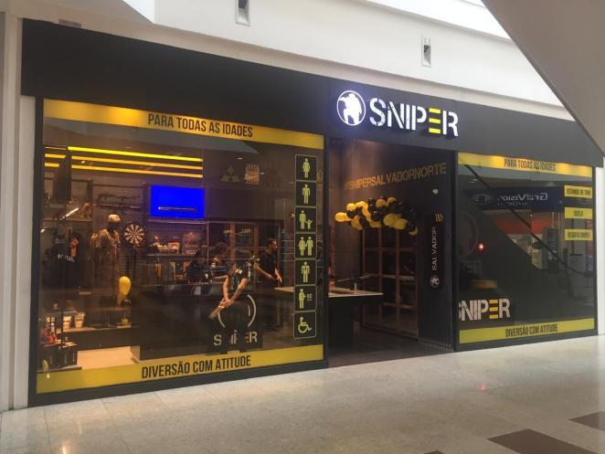 Sniper chega ao Salvador Norte Shopping. Foto: Divulgação