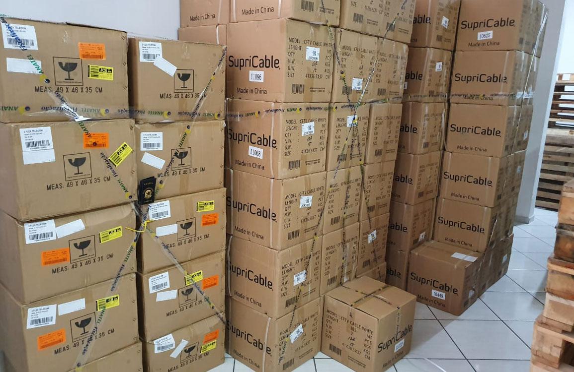 Anatel realiza operação antipirataria em 11 estados