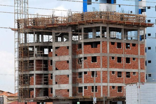 Construção civil dá sinal de recuperação e avança 0,8 pontos em agosto. Foto: Antônio Cruz/Agência Brasil