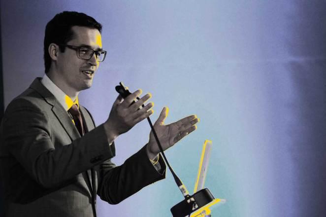 Deltan Dallagnol, captou investimentos de grandes empresários para financiar o Instituto Mude – Chega de Corrupção. Foto: Fernando Frazão/Agência Brasil