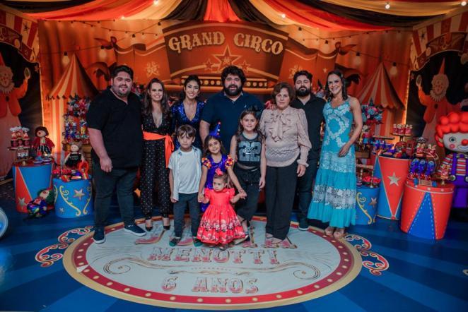 Filha de Fabiano, Júlia Menotti comemora seis anos. Foto: Vanessa Brandhuber