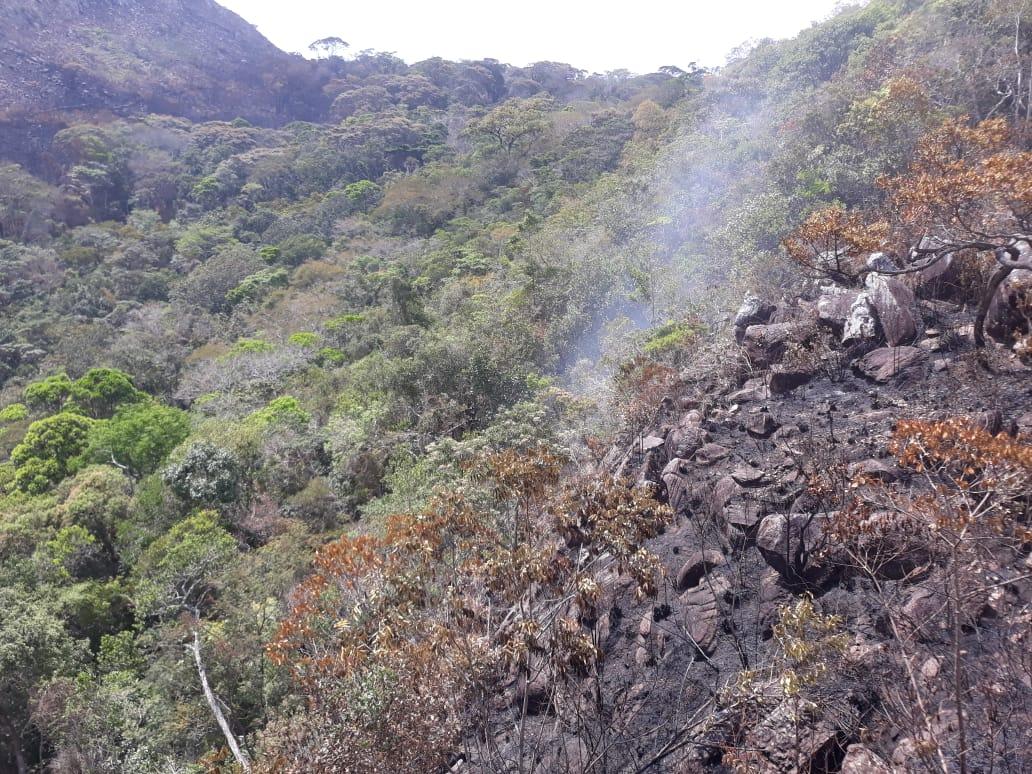Incêndios florestais são controlados em Rio de Contas e Livramento de Nossa Senhora