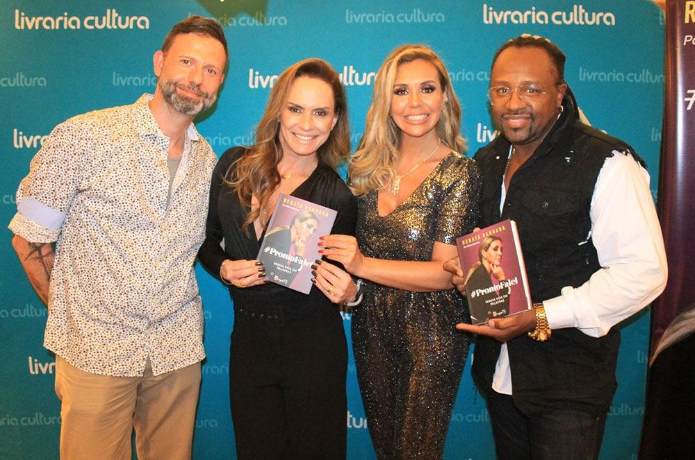Renata Banhara lança Biografia com presença de famosos