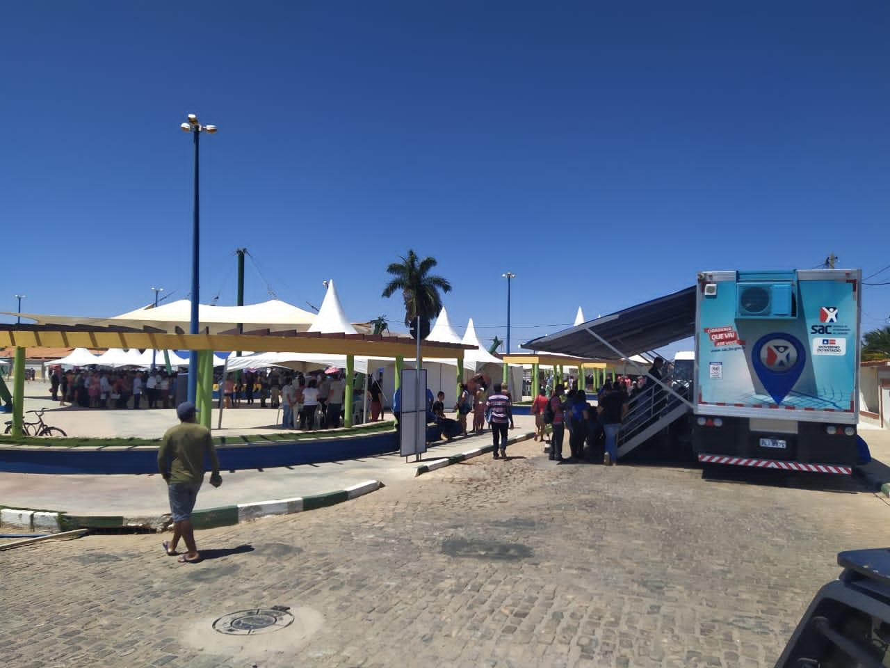 SAC Móvel chega a municípios localizados na Chapada Diamantina