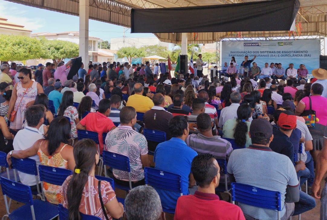 Codevasf entrega obras e autoriza execução de serviços no semiárido baiano