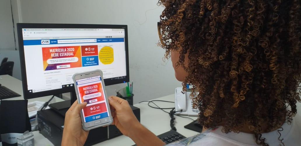 SAC Digital: faça sua matrícula na rede estadual de ensino sem sair de casa