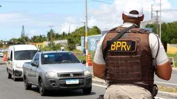 Polícia Rodoviária Estadual realiza Blitz em rodovias durante o Carnaval (Foto: Camila Souza/GOVBA)