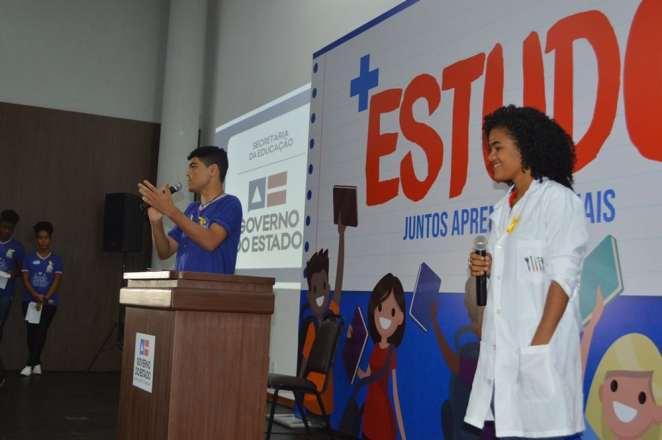 Lançamento do Mais Estudo (Foto: Josenildo Almeida)