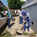 Semana da água em Barreiras - mobilização esgoto (Foto: Divulgação/Embasa)