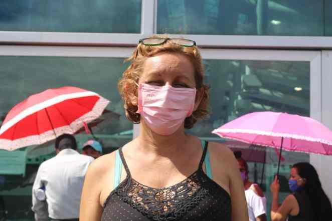 A mãe de Maria Lucicleia Serra está com sintomas de Covid-19 há uma semana (Imagem: Kleyton Silva/Agência Pública)