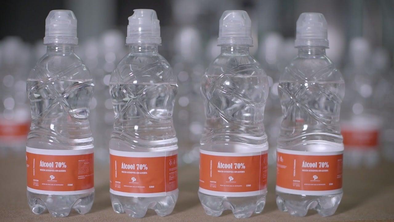 Grupo Petrópolis produz álcool 70% para doação na Bahia