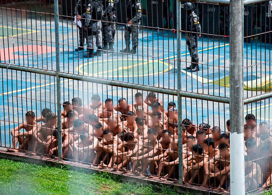 Com saúde à beira do colapso por coronavírus, Amazonas isola 300 presos e não testa doentes