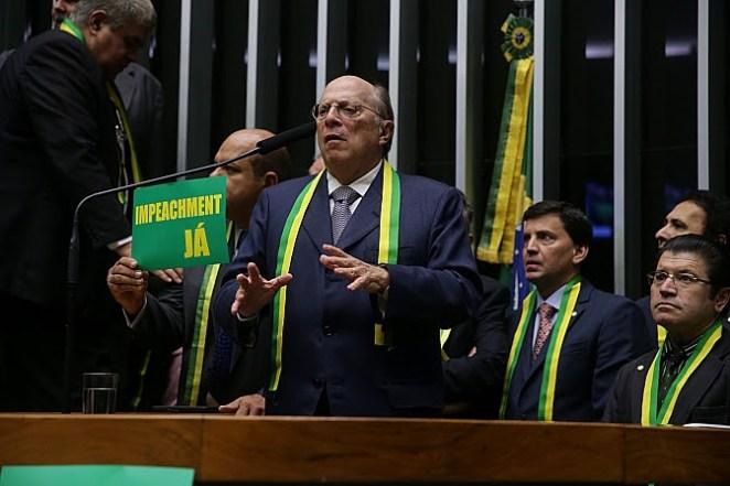 Miguel Reale Júnior é um dos autores do impeachment de Dilma Rousseff (Imagem: Ananda Borges/Câmara dos Deputados)