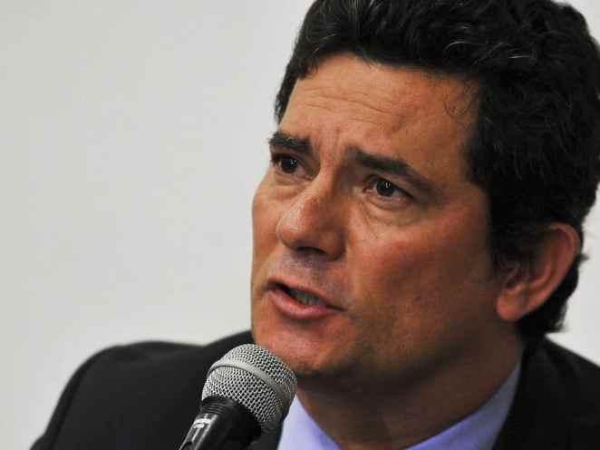 O ex-ministro da Justiça e Segurança Pública, Sergio Moro, acusou Bolsonaro de interferência na Polícia Federal (Imagem: Marcello Casal Jr/Agência Brasil)