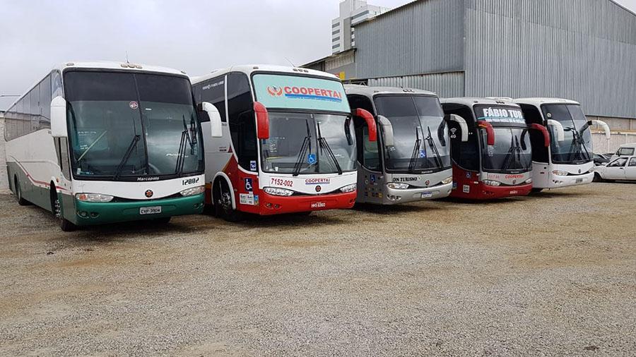 ANTT na Bahia faz balanço de 14 veículos apreendidos fazendo transporte clandestino
