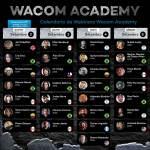 Programação Wacom Academy (Foto: Divulgação)