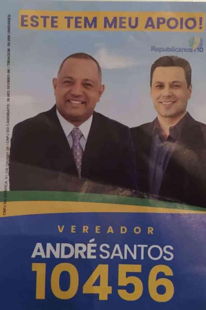 André Santos foi um dos vereadores mais votados na cidade de São Paulo (Foto: Reprodução)