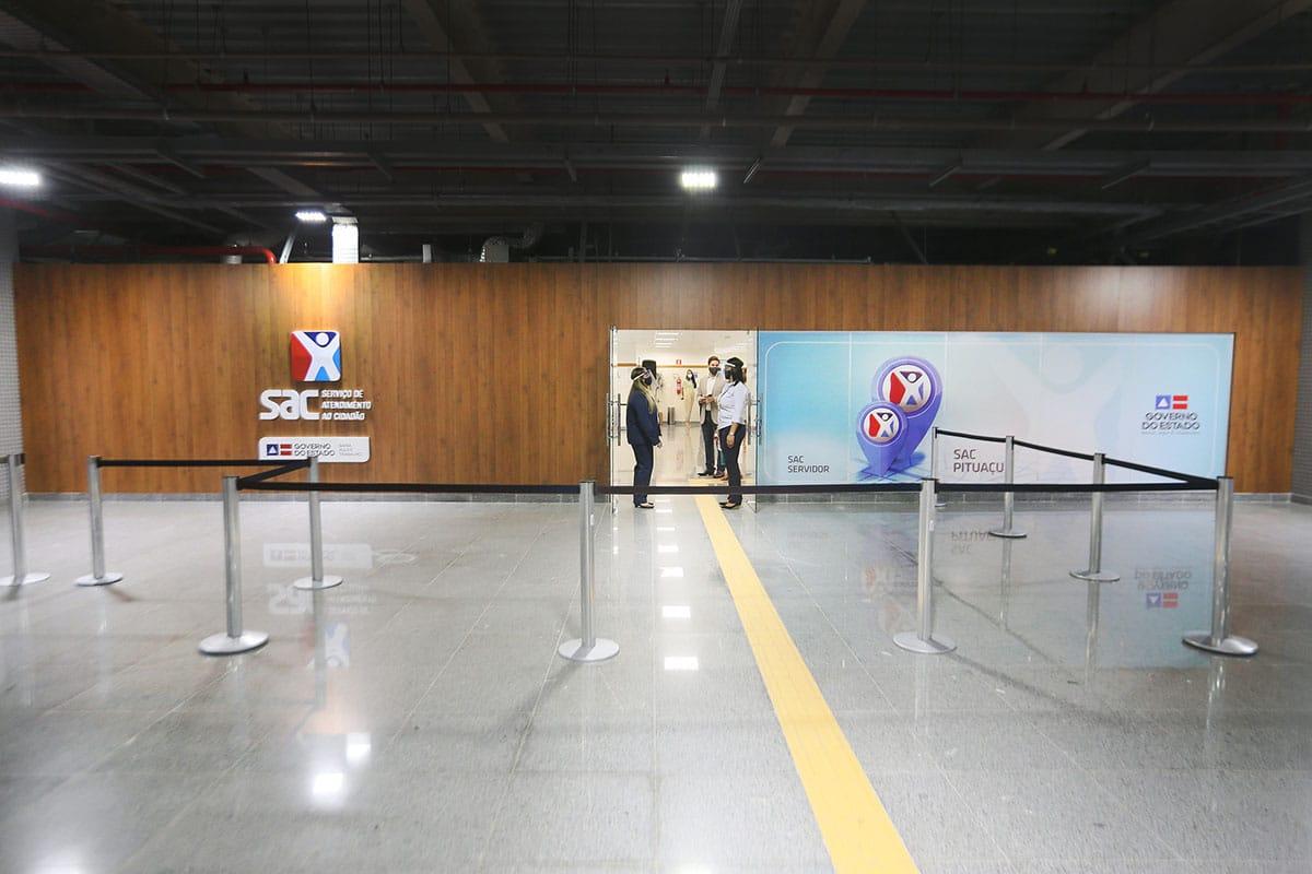 Documentos emitidos no SAC Paralela são entregues no SAC Pituaçu
