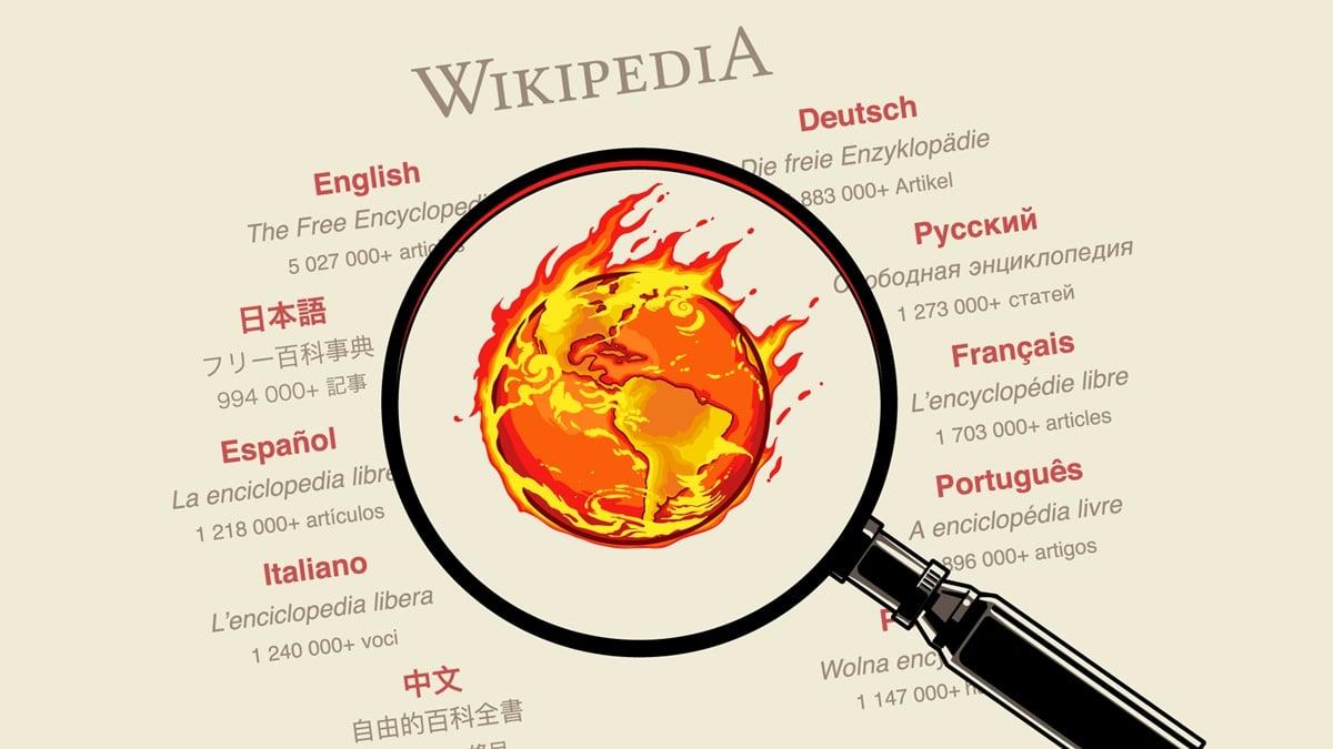 Grupo se reúne para proteger a Wikipédia do negacionismo climático
