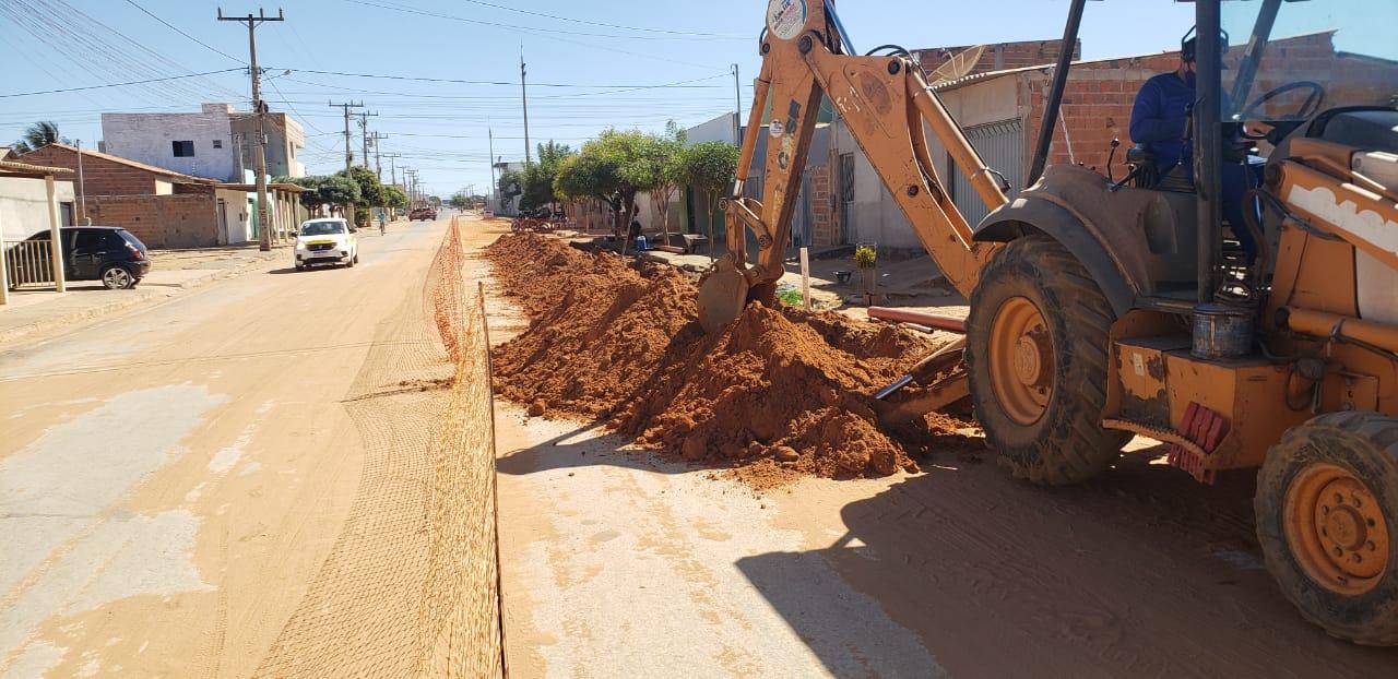 Cobertura de esgotamento sanitário em Luís Eduardo ultrapassa média nacional