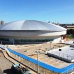 Complexo Esportivo: Obra construída e sem data para funcionar