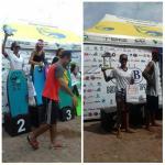 Atletas de Guarapari se destacam na Copa COB de Bodyboard