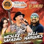 Wesley Safadão e Bell Marques hoje na Pedreira