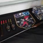 Polícia apreende três armas e maconha em quatro ocorrências diferentes em Guarapari