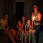 Santa Arinda: três anos sem ver a luz