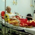Campanha para ajudar no tratamento do câncer de seu Nunes