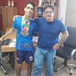 Paralímpico anchietense leva três medalhas para o município