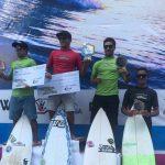 Circuito Estadual de surf invadiu as areias da Praia do Morro