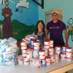 Creche Alegria recebe doação significativa de leite em pó