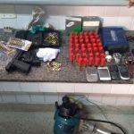 Foragido da justiça é detido com arma e munições em Guarapari