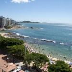 Todas as praias estão próprias para banho em Guarapari
