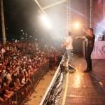 Shows gratuitos reúnem cerca de 50 mil pessoas na Praia do Morro