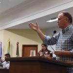 Pré-candidato, Casagrande visita Câmara de Anchieta