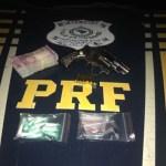 Armas, munições e droga são apreendidas pela PRF em Guarapari