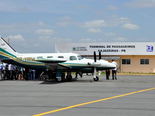 Aeroporto de Cajazeiras terá primeiro voo em outubro
