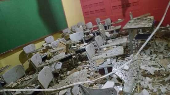 Temporal de 40 minutos deixa rastro de destruição em Bonito de Santa Fé